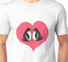 Kissing Penguins Unisex T-Shirt