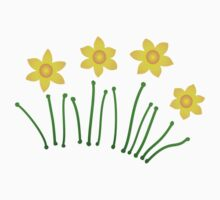 Daffodils!!! Kids Clothes