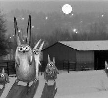 Night scene by Marianna Tankelevich