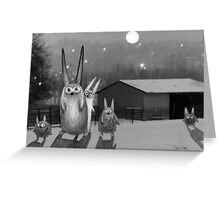 Night scene Greeting Card