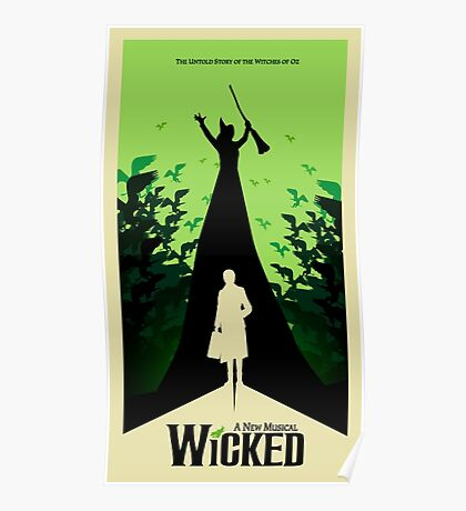 Wicked - Elphaba's Untold Story Poster
