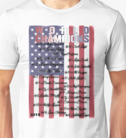 World Champions | USWNT Unisex T-Shirt