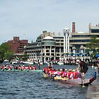 Dragon Boat Race Plate # 35 by Matsumoto