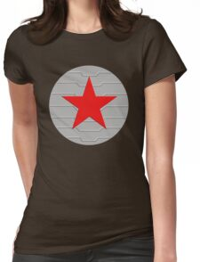 Winter Soldier - Shield Womens Fitted T-Shirt