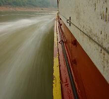 River Boat Speed by openyourap