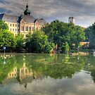 Flood in Győr by zumi