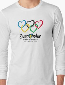 Eurovision Olympics [Stockholm 2016] Long Sleeve T-Shirt