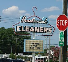 Boulevard Cleaners by Lesley Rosenberg