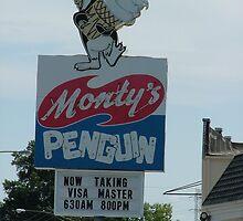 Monty's Penguin by Lesley Rosenberg