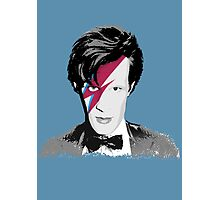Doctor Who / Ziggy Stardust Photographic Print