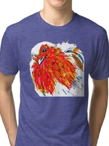 Little Robin Close-Up Tri-blend T-Shirt