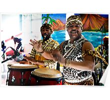 African drumming Poster