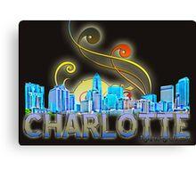 Charlotte, nc Canvas Print