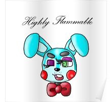 Flammable Toy Bonnie Poster