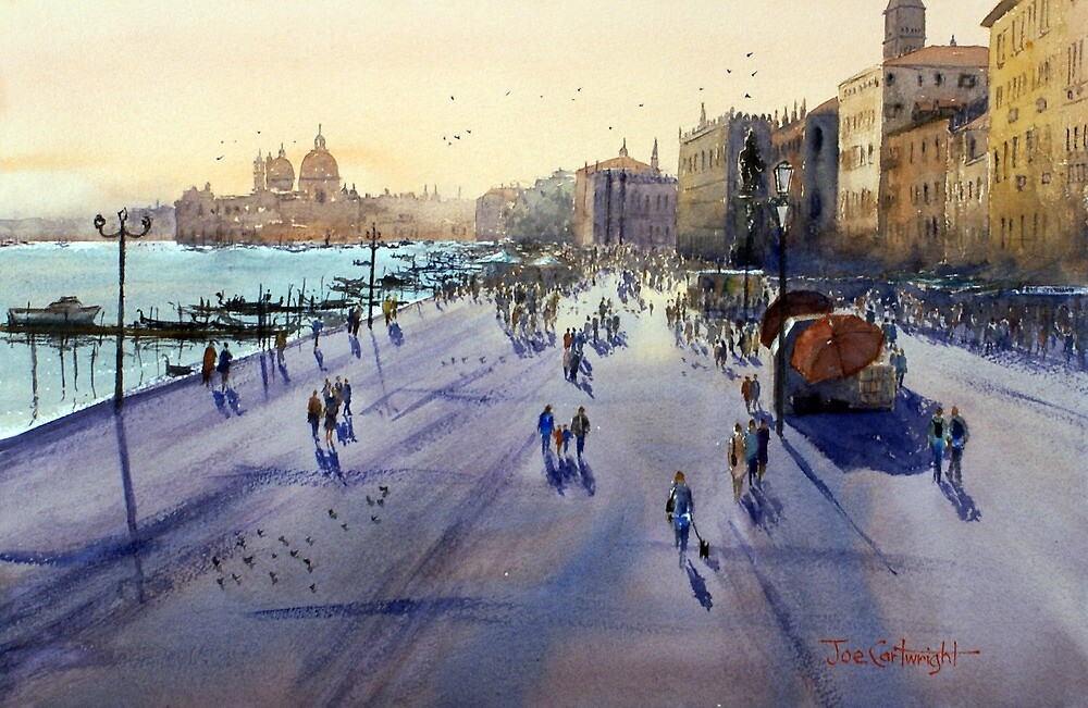 Venice Sunset by Joe Cartwright