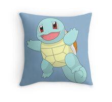 #07 Squirtle Pokemon Throw Pillow