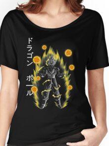 Wish - Goku Women's Relaxed Fit T-Shirt