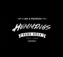 Luke Hemmings White Logo by stylinson