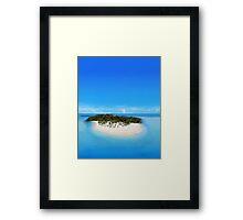 Bacardi Island in Samana Bay, Dominican republic Framed Print