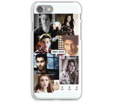 Teen Wolf Collage iPhone Case/Skin