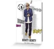 Kim Hyun Joong - Beauty Beauty Greeting Card