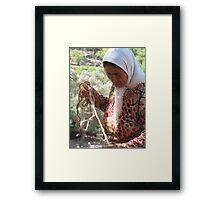 Turkish Life 2 - JUSTART © Framed Print