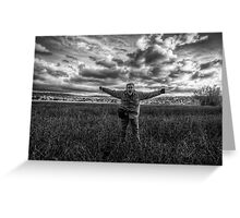 Fight the Wind Greeting Card