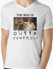 Outta Control Mens V-Neck T-Shirt