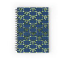 The Man in the Suit Spiral Notebook