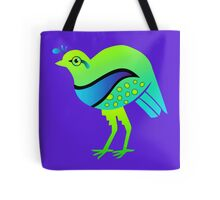 Emerald Quail Tote Bag