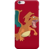 #06 Charizard Pokemon iPhone Case/Skin