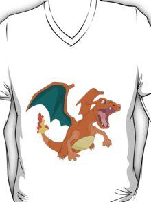 #06 Charizard Pokemon T-Shirt