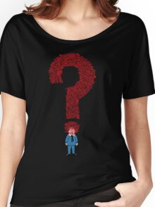 Question Boy Women's Relaxed Fit T-Shirt