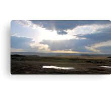 Looking Across The Dale Canvas Print