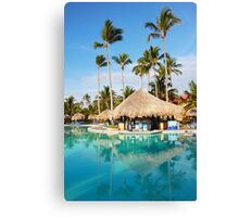 Postcard from Tahiti, French Polynesia Canvas Print
