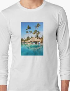 Postcard from Tahiti, French Polynesia Long Sleeve T-Shirt