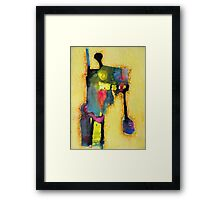 the height of labour Framed Print
