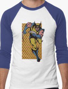 Wolverine Comic Dots Men's Baseball ¾ T-Shirt