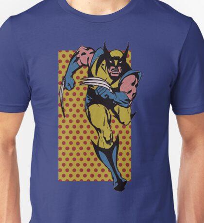 Wolverine Comic Dots Unisex T-Shirt