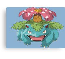 #03 Venusaur Pokemon Canvas Print