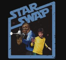 Star Trek / Star Wars by southfellini