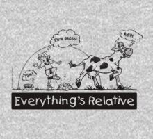 Everything is Relative One Piece - Long Sleeve