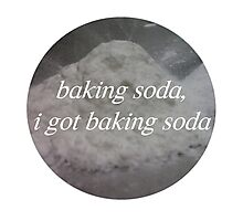 Baking Soda  Photographic Print