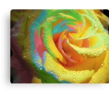 Rainbow Cocktail. Canvas Print