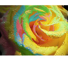 Rainbow Cocktail. Photographic Print