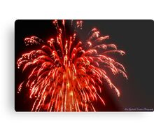 Rockets Red Glare Metal Print