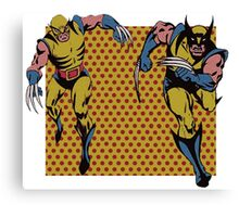Wolverines 60s and 80s Canvas Print