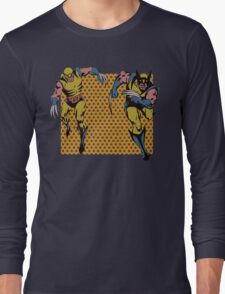 Wolverines 60s and 80s Long Sleeve T-Shirt