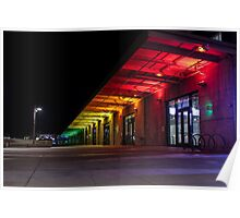 San Francisco Exploratorium Rainbow Walkway Poster