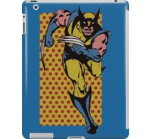 Wolverine Comic Dots iPad Case/Skin